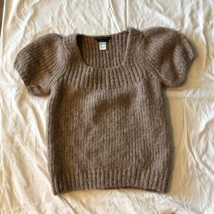 BCBG short sleeved sweater